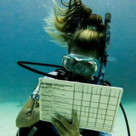 staff Instructor Underwater